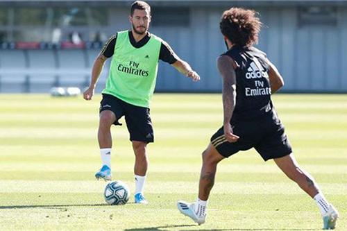 عودة هازارد وخاميس وبراهيم لتدريبات ريال مدريد