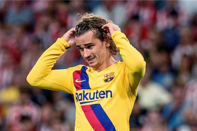 غريزمان يعترف بحاجته إلى الوقت للتأقلم أكثر مع برشلونة