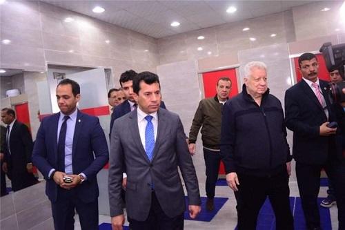 وزير الرياضة المصري يهنئ الزمالك بالفوز