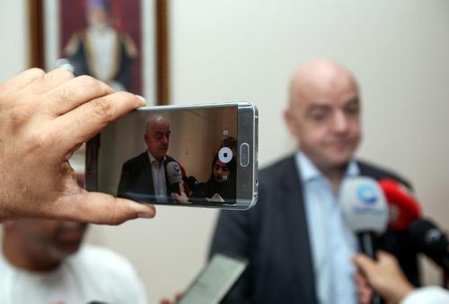رئيس الـ FIFA من موريتانيا: أنا على يقين بأن مونديال قطر سيكون رائعا