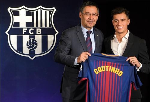 """برشلونة يقدم كوتينيو لوسائل الإعلام، واللاعب يؤكد أن حلمه تحقق باللعب لـ""""البلاوغرانا"""""""