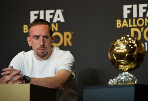 ريبيري: سرقوا مني الكرة الذهبية في 2013 لصالح رونالدو.. والفرنسيون لم يدعموني
