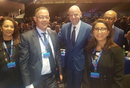 """لجنة ترشّح """"المغرب 2026"""" تُثمّن زيارة اتحاد غرب آسيا وتَخوّف من """"الصوت"""" الأردني"""