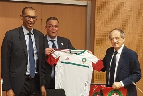 """فرنسا تُعلن دعمها """"القوي"""" لملف ترشح المغرب لتنظيم مونديال 2026"""