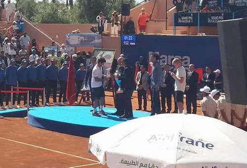 الإسباني إندوخار يهزم أدموند ويتوج بلقب بطولة مراكش المفتوحة للتنس