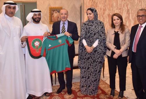"""المغرب يُواصل ترويج ترشّحه لتنظيم """"المونديال"""" في الخليج ويستمِيل صَوت الإمارات"""