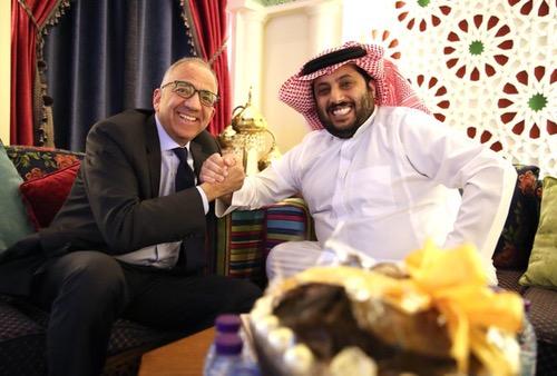 تركي آل شيخ يستقبل رئيس اتحاد الكرة الأمريكي ويُدَون: مِلف قوي لتنظيم كأس العالم