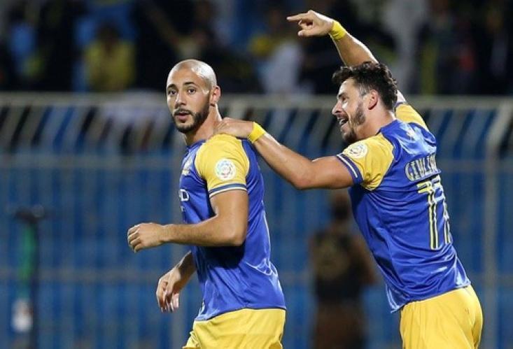 أمرابط: سعيد باللعب لفريق النصر والجمهور السعودي رائع