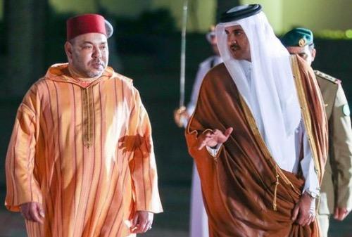 أمير قطر يعلن دعمه للمغرب في أي ترشح جديد للمونديال