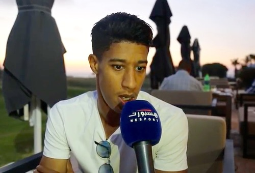 أحداد: أطمح للقب هداف الدوري المصري.. والزمالك بوابة احترافي بأوروبا