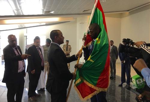 موريتانيا تُطالب الكاف بتغيير عَلمها القدِيم في الاجتماع التقني وتحذّر من الأخطاء في الافتِتاح