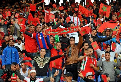 """أيَادي المغاربة على قُلوبهم بعد الأداء غير المقنع للأسُود في """"برُوفة"""" ما قبل الكَان"""