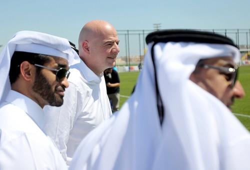 إنفانتينو: لن يقام مونديال بـ48 فريقا في 2022 إذا رفضت قطر