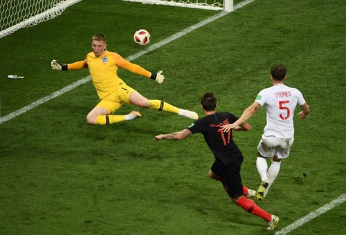 كرواتيا تقلب الطاولة على انجلترا وتحقق تأهلا تاريخيا لنهائي كأس العالم