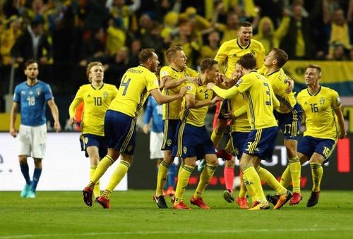 رسميا.. إيطاليا تغيب عن كأس العالم للمرة الأولى منذ 60 عاما.. والسويد تعبر لروسيا