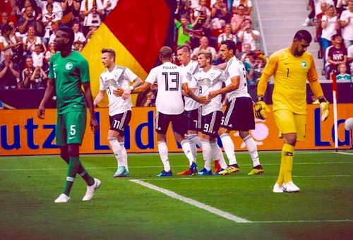 المنتخب الألماني يفوز على نظيره السعودي بهدفين وديا استعدادا لمونديال روسيا