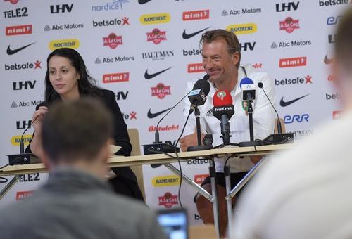 رونار: استعداد المنتخب البدني والذهني جيدة للغاية.. وبنعطية: روسيا نحن قادمون