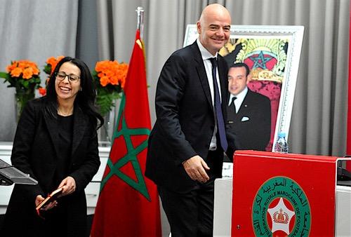 فيفا لهسبورت: توصلنا بطلب استضافة المغرب لمونديال 2026.. والحسم في13يونيو2018