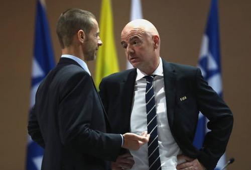 رئيس الـ UEFA يُنبّه الـ FIFA من إمكانية رفض مِلف المغرب تقنيا قبل التصويت ويُطالبها بالحياد