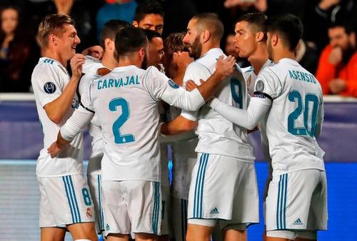 ريال مدريد يكتسح أبويل القبرصي بسداسية وتوتنهام يقلب الطاولة على دورتموند