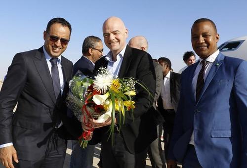 إنفانتينو: التجربة الموريتانية في كرة القدم نموذج يحتذى به في أفريقيا والعالم!