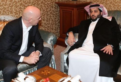 """هل تتحول """"مهاترات"""" مستشار ملك السعودية إلى قرارات سياسية ضد ملف المغرب للمونديال"""