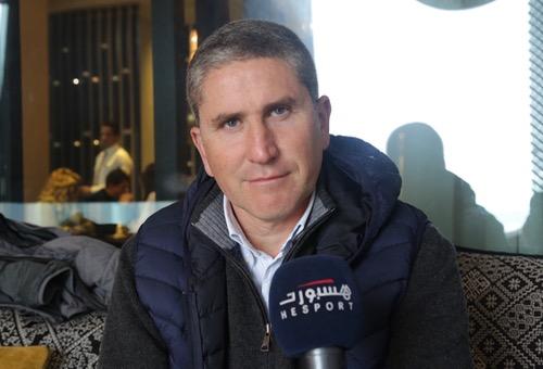 """غاريدو لهسبورت: أطمح للانتصار في أول """"ديربي"""".. وفخر لأي مدرب أن يشتغل في الرجاء"""