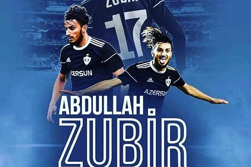 زوبير لاعب الموسم في الدوري الأذريبيجاني