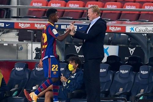 رونالد كومان مدرب البارصا: أنسو فاتي أمامه مستقبل مبهر