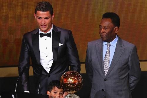 بيليه: كريستيانو أفضل لاعب في العالم حاليا