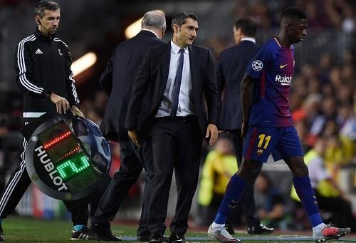 الضغوط تزداد على ديمبيلي.. هل اقترب المهاجم الفرنسي من مغادرة برشلونة؟