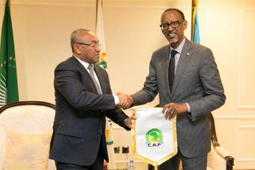 زيارة أحمد أحمد لرئيس رواندا تقرّب نهائي العصبة من مدينة كيغالي