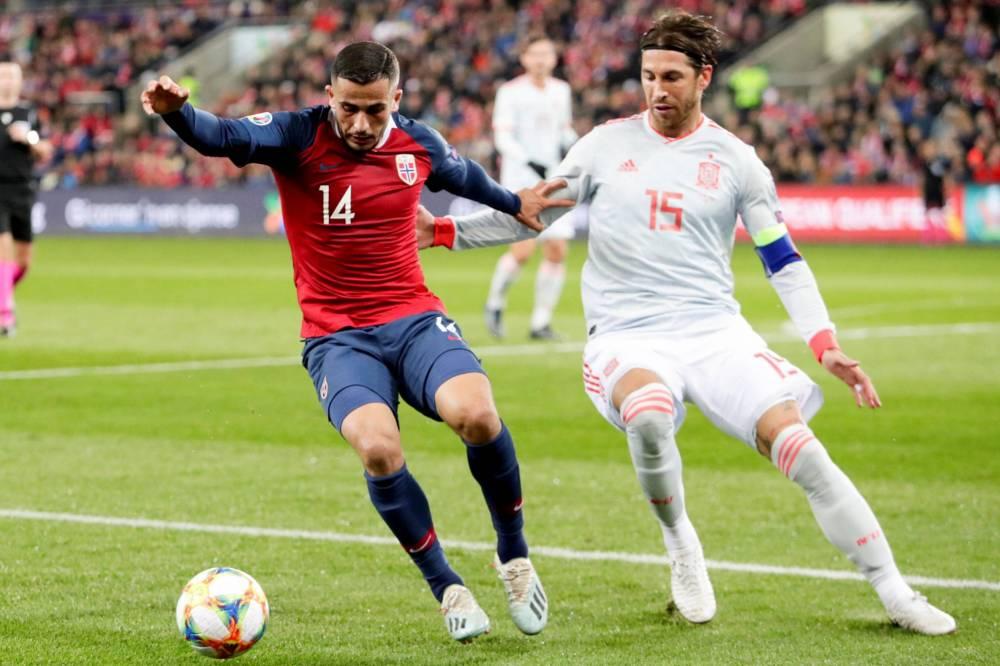 قطار إسبانيا يتوقف في النرويج ليتأجل تأهلها لليورو