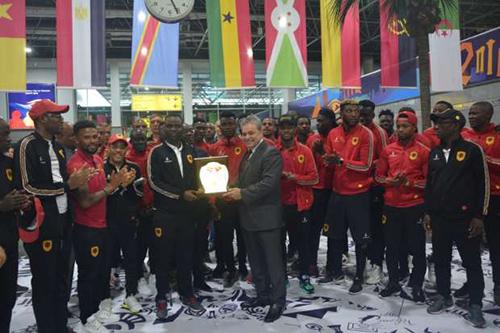 """أنغولا وجنوب إفريقيا يصلان إلى القاهرة للمشاركة"""" الكان"""""""