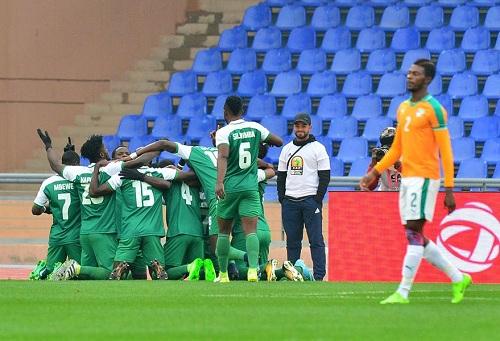 زامبيا تقصي الكوت ديفوار وتقترب من بلوغ ربع نهائي كأس إفريقيا للاعبين المحليين 