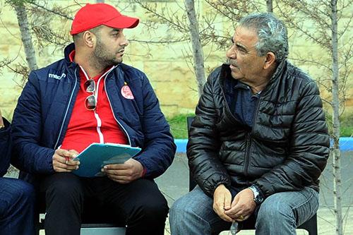يوسف أشامي يعود لطاقم البنزرتي بالوداد
