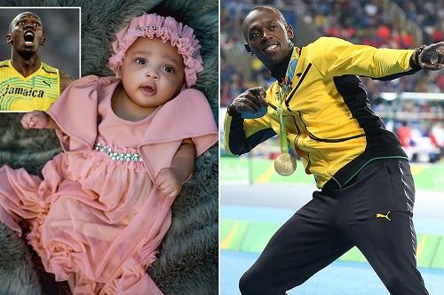يوسين بولت: لن أدفع ابنتي نحو ألعاب القوى