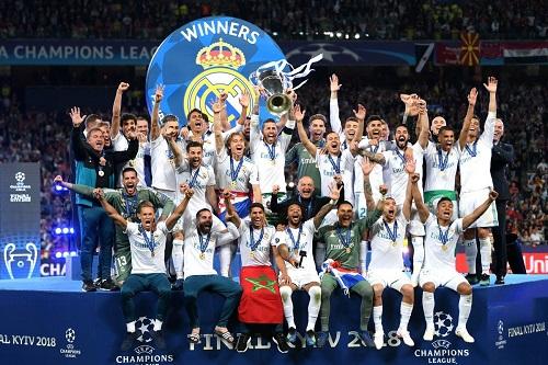 ريال مدريد يحتفل بذكريات لقبين سابقين في الدوري ودوري الأبطال