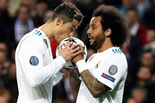 مارسيلو: رونالدو أخبرني برحيله قبل نهائي الأبطال