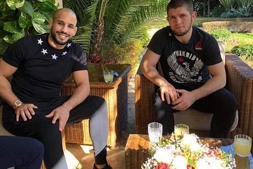 المُقاتل حبيب نورماغوميدوف يصل إلى المغرب تلبية للدعوة الملكية