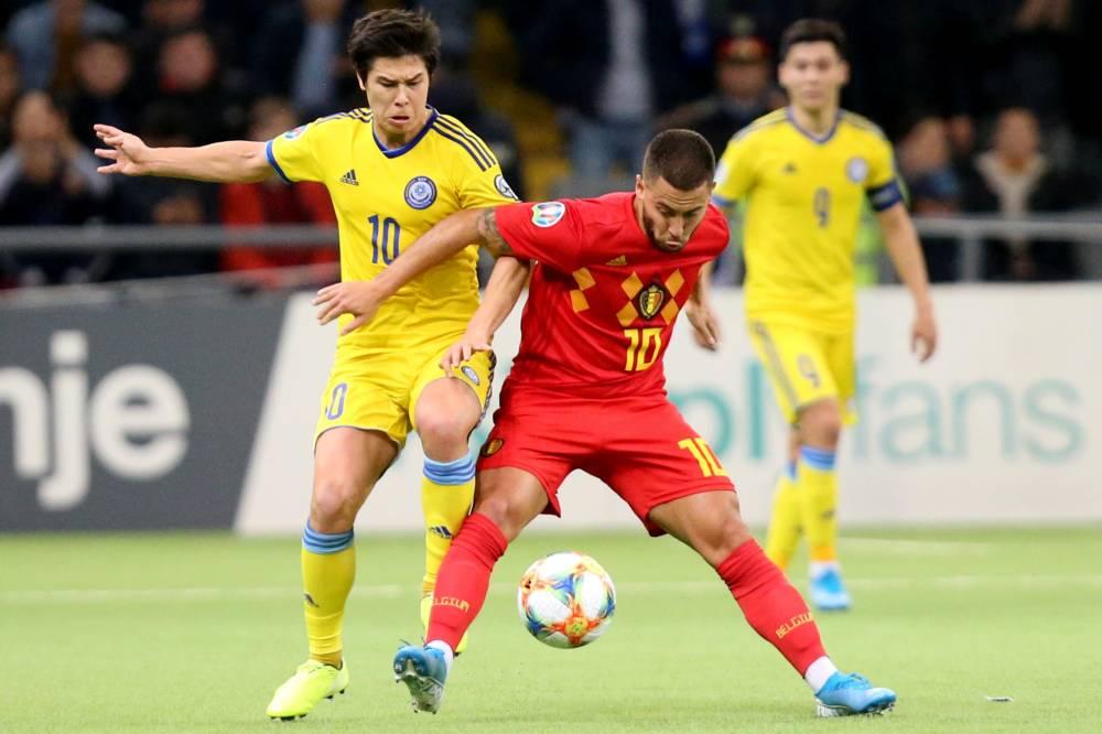 بلجيكا تتغلب على كازاخستان في تصفيات اليورو