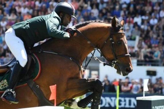 منتخب الفروسية يهدي المغرب الميدالية الذهبية