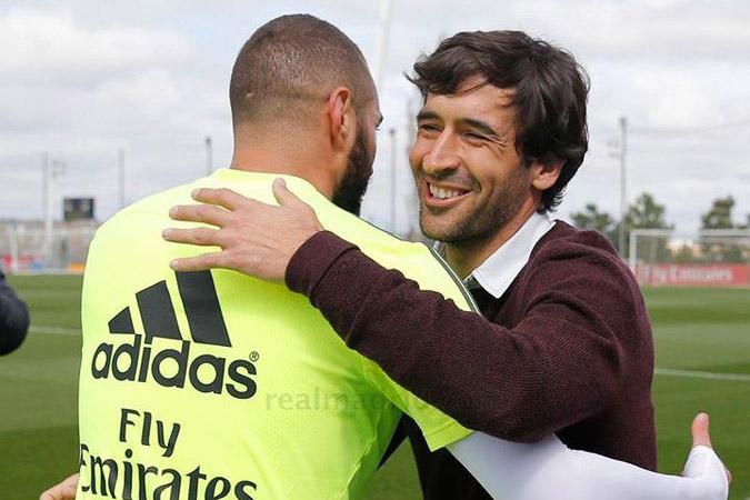 راؤول غونزاليس يبدأ مسيرته مع الفريق الرديف للريال