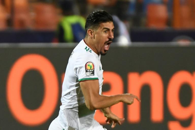 """""""قناص الشباك"""" بونجاح يدون اسمه في تاريخ منتخب الجزائر"""
