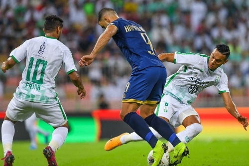 مواجهة سعودية في ربع الأبطال بين النصر والأهلي