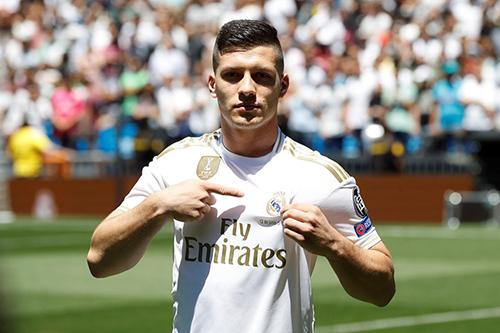 يوفيتش يعرب عن سعادته بالانضمام لريال مدريد