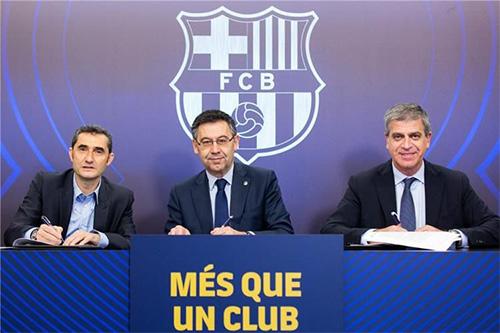 بارتوميو يؤكد دعم برشلونة لإرنستو فالفيردي