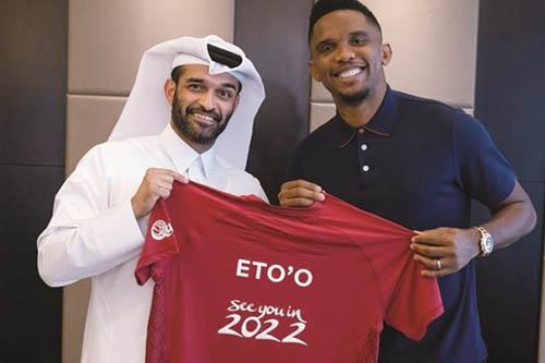 اختيار صامويل إيتو سفيرا لمونديال قطر 2022