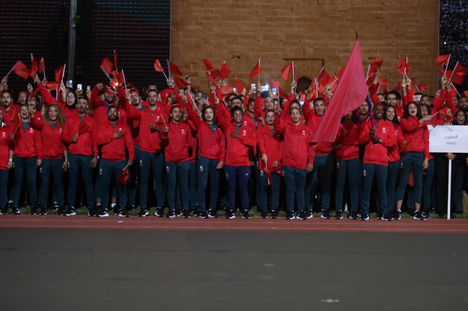 آمال كبيرة معلقة على 49 عداء وعداءة يمثلون المغرب في الألعاب الإفريقية