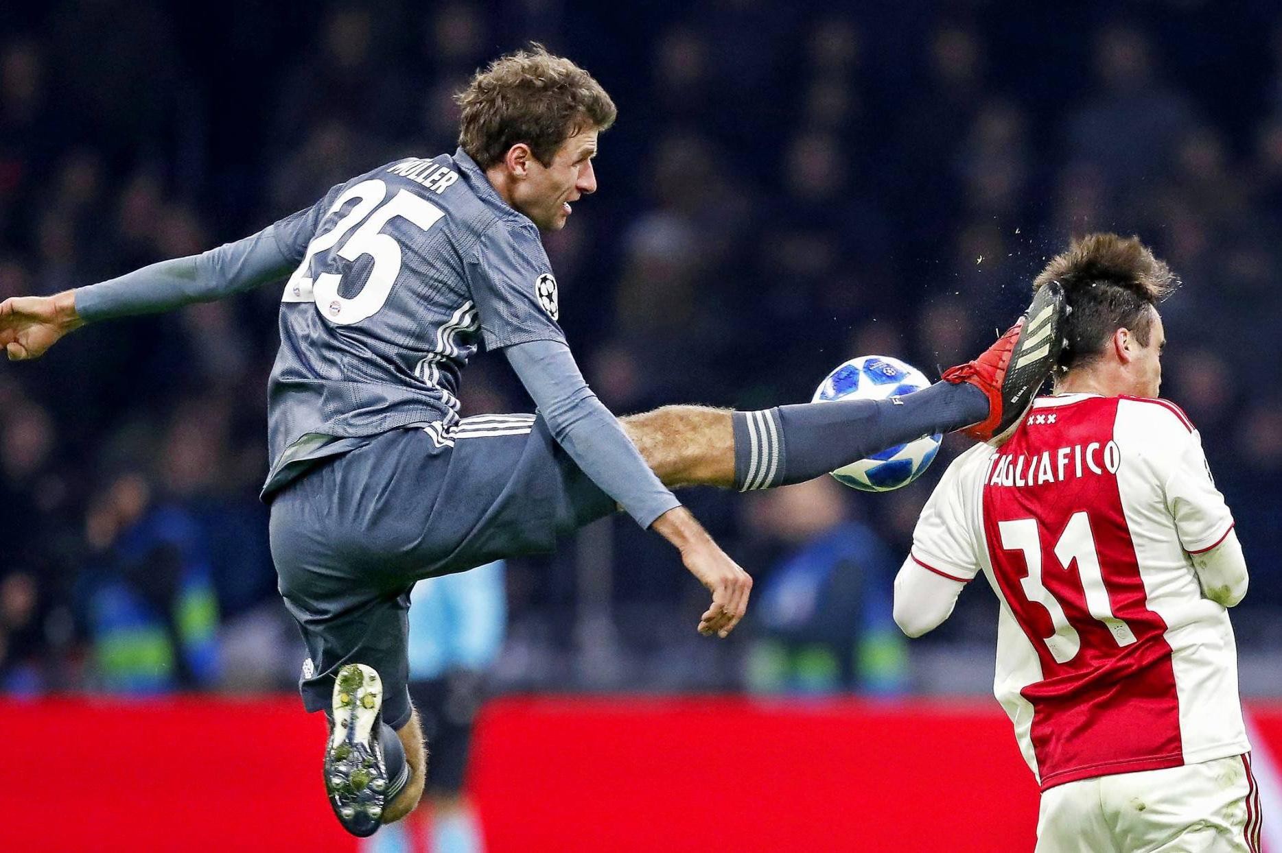 دوري أبطال أوروبا: إيقاف مولر وفوبر مباراتين